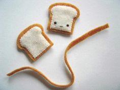 Felt Toast Charm…