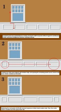How to Install Board and Batten Wainscoting (White Painted ...