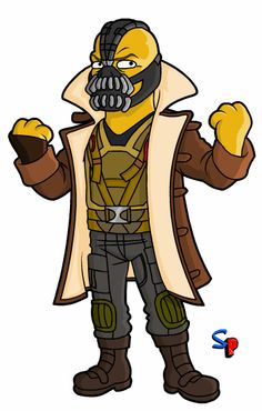 Springfield Punx: Bane - The Dark Knight Rises