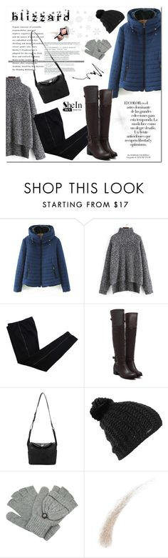 """""""Winter Blizzard"""" by aurora-australis ❤ liked on Polyvore featuring COSTUME NATIONAL, Burton, Kevyn Aucoin, Chanel, Arco, Sheinside, polyvoreeditorial and blizzard"""