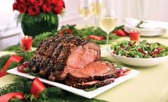 A Simple and Stylish Holiday Buffet  Rancher's Reserve ® Holiday Red Wine Roast | Safeway