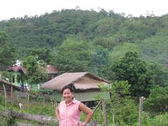 Malantay..is the mountain place of Mangyan Tribes behind me.on my mission to  the island of .Oriental Mindoro, Philippines