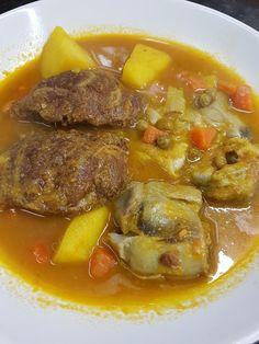 Cocina Basica y Fresca: CARRILLERAS CON ALCACHOFAS Y PATATAS CBF@