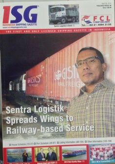Wahyu Jatmiko on the cover of ISG