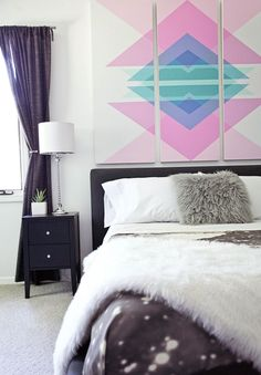 Laura's Bedroom (Before + After!) - A Beautiful Mess