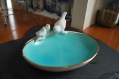 Hey, I found this really awesome Etsy listing at https://www.etsy.com/listing/266841563/robin-egg-blue-vintage-pre-1949-gerold