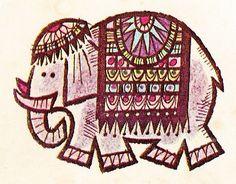 ZANIES Matchcover Elephant by hmdavid, via Flickr