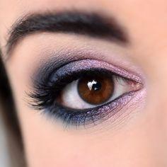 Make-up esprit galaxie avec la palette Untamed de Sigma - Marine Loves Polish and More... - Blog beauté et lifestyle Palette, Eye Shadow, Makeup Looks, Make Up, Eyes, Lifestyle, Magnetic Eyelashes, Black Pencil, False Lashes