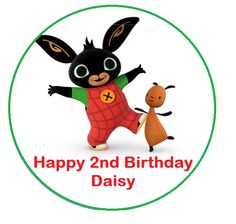 Bing Bunny personalised cake topper | Top That Cake