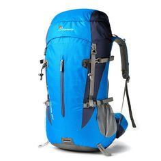 Amazon.com: Mountaintop Outdoor Hiking Climbing Backpack Blue: Sports & Outdoors