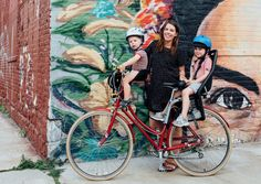 A guide to biking with children, including the best bike seats.