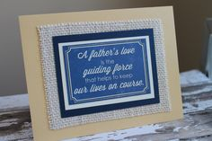 Father's Day Father Birthday Father All Occasion by AllOnAHeartstring on Etsy