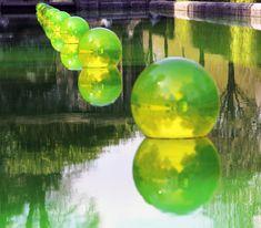 Water in a Bubble - Shigeko Hirakawa - 2014 - Trévarez Domaine, Saint Goazec, Finistère, France