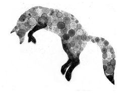 Fox Bubble Print by VIZArt - contemporary - artwork - Etsy