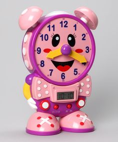 Pink Telly The Teaching Time Clock