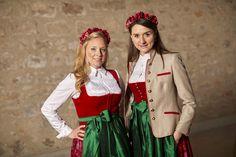 Heimat Lederhosen, Apron, Folk, Dresses, Style, Fashion, Dirndl, Breien, Vestidos