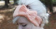 my first tutorial! it's getting chilly, and i thought a headband would be nice to keep my ears warm this winter. and it has a bow, so that'...
