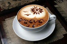 """Тонкости приготовления ,капучинно'.Если хотите приготовить такой кофе с помощью профессиональной кофе-машины, то вам просто нужно подставить чашку под носик , подключить емкость с молоком  и выбрать программу """"капчинно""""...."""