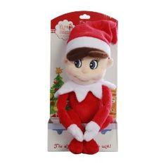 Plush Elf on a Shelf (less creepy than the hard plastic one)