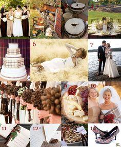 Warm, Winter Weddings - WV WEDDINGS (designed by Caroline McKean - http://www.mywvwedding.com/Planners-Palette/Annual-2011/Wools-Warmth-Weddings/)