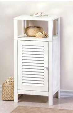 Nantucket Bathroom Shelf Cabinet - HeadWest Outfitters