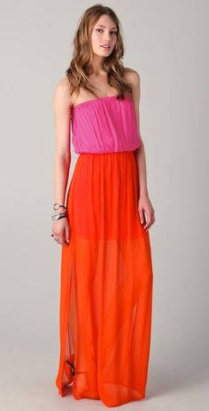 ONE by Colorblock Maxi Dress
