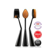 O! WOW Make-Up Brush ($57) via Polyvore featuring beauty products, makeup, makeup tools, makeup brushes and angled makeup brush