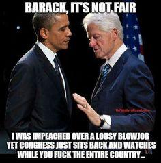 Barack & Bill
