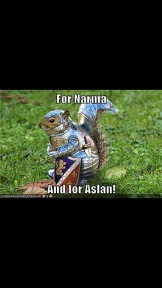 That's either Repicheep or some crazy squirrel in armor