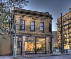 Historic Third Ward in downtown Milwaukee Wisconsin