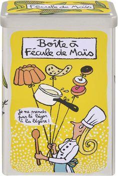 Boîte à fécule de maïs - DLP - Valérie Nylin