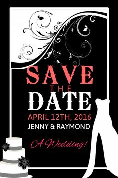 36 best save the date card templates images in 2018 save the date