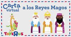 Carta Virtual a los Reyes Magos: