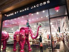 Marc by Marc Jacobs Store Front in Vegas    http://www.leblogdebetty.com/ by bettyjack, via Flickr