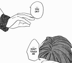 Find images and videos about black and white, anime and sad on We Heart It - the app to get lost in what you love. Manga Anime, Manga Boy, Anime Hand, Elf Rogue, Anime Triste, Manga Quotes, Dont Touch Me, A Silent Voice, Dark Anime