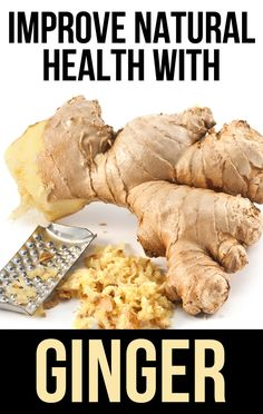 Top 5 Natural Health Benefits of Ginger. www.naturalhq.org/ #AlwaysTeamGinger