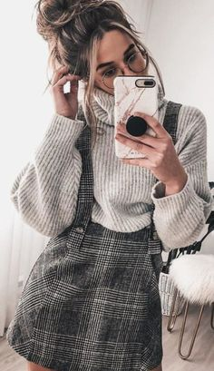 Preppy Outfit Ideas To Wear This Winter - Herren- und Damenmode - Kleidung Adrette Outfits, Cute Casual Outfits, Fashion Outfits, Womens Fashion, Preppy Outfits For School, Cold Weather Outfits For School, Fashion Ideas, Winter School Outfits, Korean Outfits