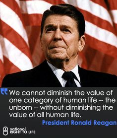 In 1984, President Ronald Reagan designated Sunday, January 22nd as Sanctity of Human Life Day.
