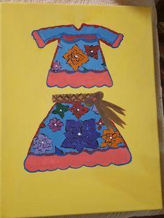 Vestido indígena.