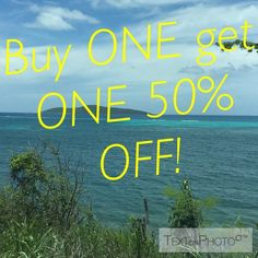 Buy one get one 50% off! Buy one get the second item 50% off. Of equal or lesser value. Accessories