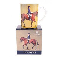 Mooi en stijlvol cadeau van Ashdene  Prachtige mok met een mooie afbeelding van een ruiter op een paard.  De mok wordt in een mooie geschenkverpakking geleverd.