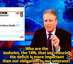 Jon Stewart Funny Quotes   gif jon stewart the daily show