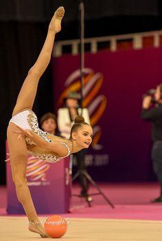 Arina Averina (Russia), European Championships 2017