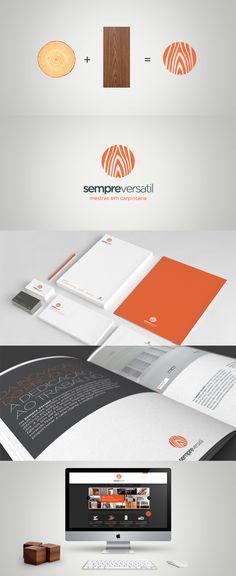Sempre Versátil Identity branding (logo + business cards + letterheads +envelopes)
