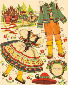 Vintage Hansel and Gretel