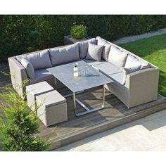 Tara Dining Loungegruppe U0026 Tisch Zebra Möbel Gartenmöbel