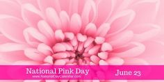 National Pink Day June 23