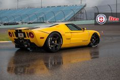 Ford GT Heffner on HRE RS105 (via ford-gt-heffner-on-hre-rs105-09 | Supercharged)