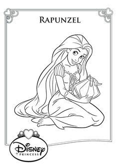 20 Rapunzel Disney Coloring Pages Rapunzel Coloring Pages, Disney Princess Coloring Pages, Disney Princess Colors, Disney Colors, Coloring Book Art, Cute Coloring Pages, Coloring Pages For Girls, Cartoon Coloring Pages, Free Coloring
