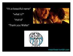 Walter & Astrid #Fringe #Farewell
